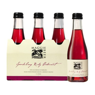 Maggie Beer Non Alcohol Sparkling Ruby Cabernet 3 pack Piccolo 600ml