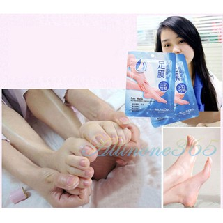 1 Pair Baby Foot Peeling Renewal Mask Ori Milk Bamboo Vinegar Dead