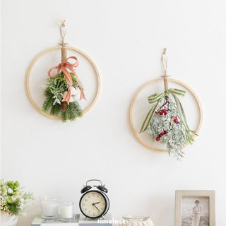 Christmas Ins Wind Wall Hanging Floral Plant Bedroom Wall Pendant