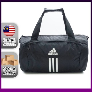 (Ready Stock) Unisex Adidas Handbag Travel Sling Bag Shoulder Gym Bag Casual Sport Duffle Bag R108279