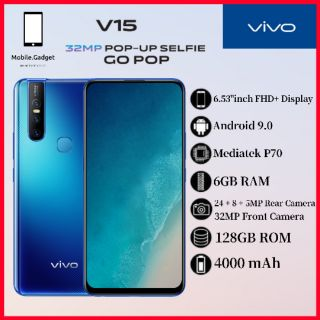 VIVO V15 6GB RAM + 128GB ROM READY STOCK!!