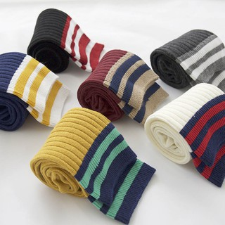 Autumn winter 6 color thicker crew christmas socks women