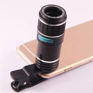 12X Optical Removable Universal Accessories Zoom Mobile Phone Lens