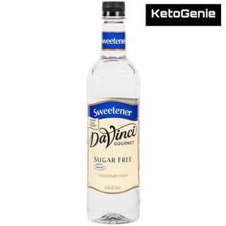 DaVinci Gourmet 750 mL Sugar Free Coconut Flavoring Syrup - Keto Friendly