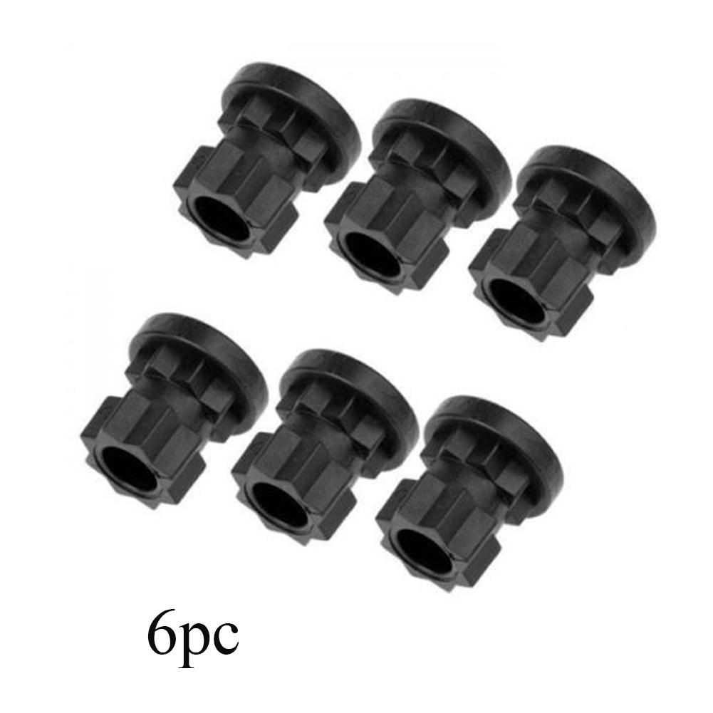 6pcs Fishing Rod Accessories Outdoor Replacement Boat Angler Nylon Sports Universal Kayak Track Mount