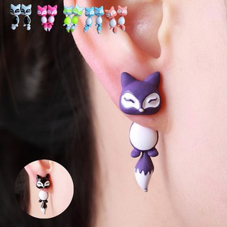 Stylish Excellent High Quality  Cute 2017 Style Accessory Fox Ear Stud Earrings