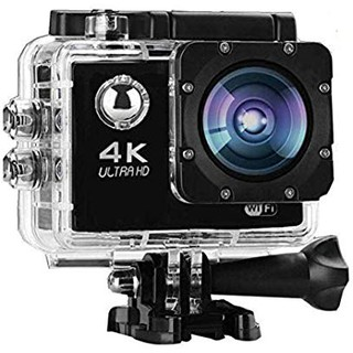 WiFi Action Camera 4K 24MP Waterproof Ultra HD Remote EIS Sports Camera 100Ft Underwater OGL 2