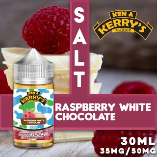 *UK BEST SELLER* KEN & KERRY SALT RASBERRY WHITE CHOCOLATE EJUICE FLAVOUR