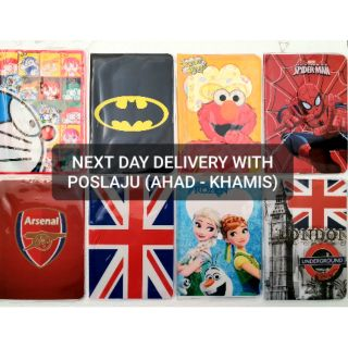 NEW Passport Cover BATMAN DORAEMON LONDON ENGLAND FROZEN SPIDERMAN ARSENAL UK holder case wallet cheap murah READY STOCK