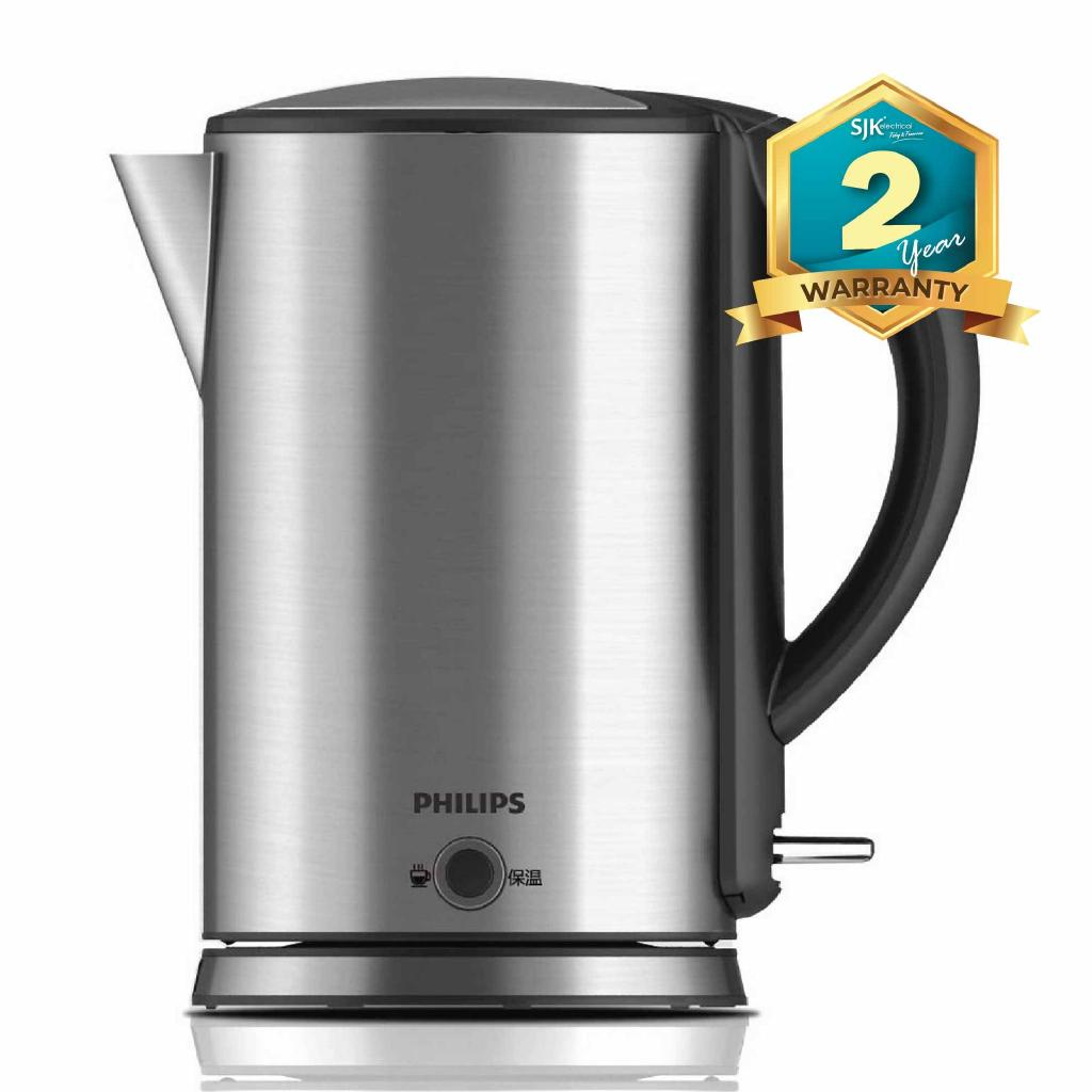 Philips Electric Jug Kettle HD9316 (1.7L) Keep Warm Function
