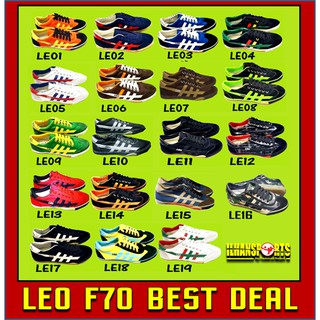 Kasut LEO Futsal - LEO F70 [BEST DEAL IN SHOPEE ]