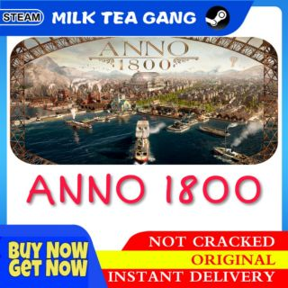 Anno 1800 Steam Account (Offline Mode Only)