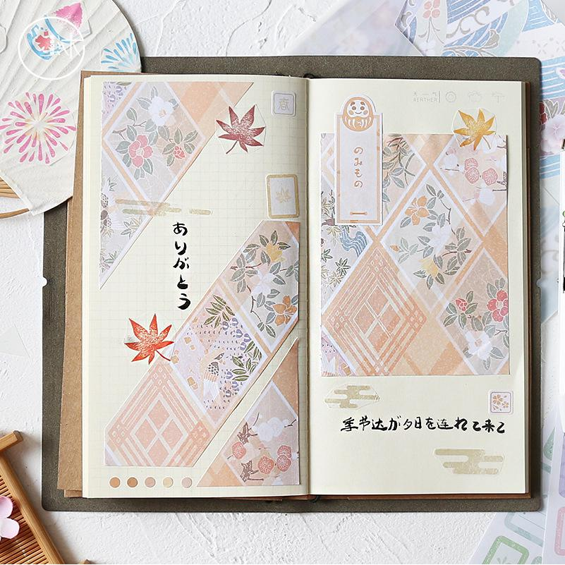 36Set Stickers Paper Memo Pad Set INS Vintage Lovely DIY Deco Bullet Journal