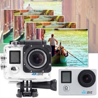PRO Cam WiFi 4K 16MP 2.0 ' LCD Dual Screen Sports Action Camera Remote Control