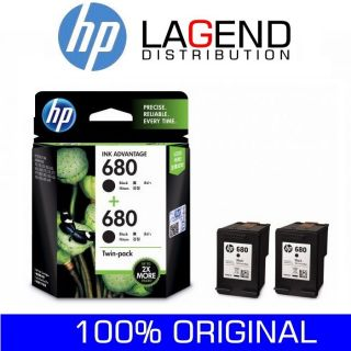 HP 680 BLACK / COLOR / COMBO PACK / TWIN Black Tri-Color Cartridge Expire 2021. HP680 #680 680COMBO 2135 3635