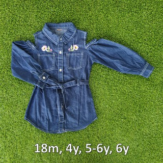 *NEW* Denim Blouse Dark Blue By Real Love
