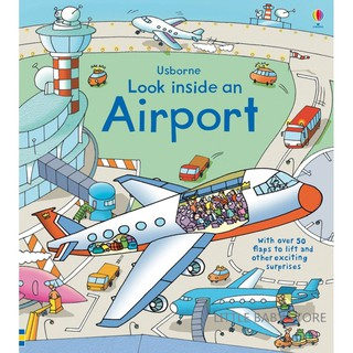 Usborne Look Inside an Airport