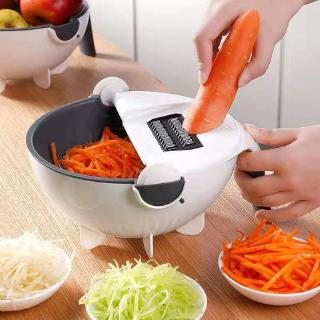 9 IN 1 Multifunction Easy Food Chopper Carrot Potato Grater Kitchen Tools Manual Vegetable Cutter Chopper Slicer