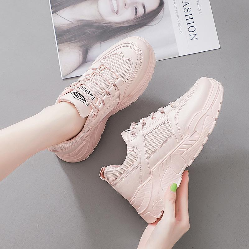 Korean small white sneakers for female students