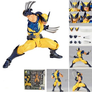 Marvel Super Hero X-Men Wolverine 15CM PVC Logan Howlett Action Figures Collectible Model Toys