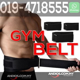 Fitness Gym Belt Weight Lifting Squat Waist Back Protect Support Tali Pinggang