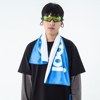 Saucerboi BY RunninWheel Chinese boy joint series printed font sports towels