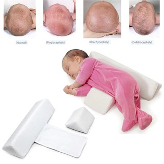 High quality Newborn Baby pillow Sleeping Positioner Prevent Flat Head Shape Anti Roll Pillow