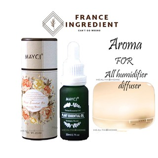 MAYCI Fragrance Premium Natural Plant France Ingredient Aromatherapy Fragrance Essential Oil Air Diffuser / Humidifier