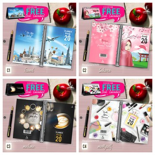 (Ready Stock) CEO Edition Book Planner Calendar 2020 4 Cool Design MePlanner Ring Binding