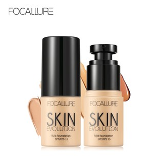 FOCALLURE Foundation Face Makeup Base Face Liquid Foundation BB Cream Concealer