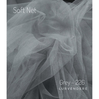SOFT NET (TULLE FABRIC) - GREY (226)