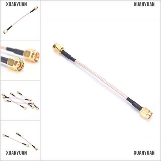 【XUANYUAN】10cm Length SMA Male to SMA Male Connector Pigtail Cable New