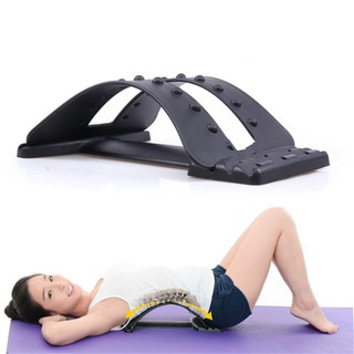Ready Stock Back Massage Stretcher Relax Lumbar Support Spine Pain Relief
