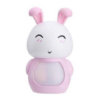 USB ultrasonic humidifier essential oil sprayer 200ml rabbit steam engine air purifier night LED lamp office home gift