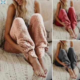 Womens Ladies Trousers Casual Loose fit Loungewear Pajamas Womens Ladies Ankle length Mid waist Plus size Elastic