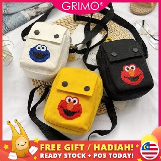 READY STOCK😍GRIMO Same Dot Women's Sling Bag Handbags Beg Tangan Kid's Bags Travel Girl Boy Wanita Cartoon Gift fb11872