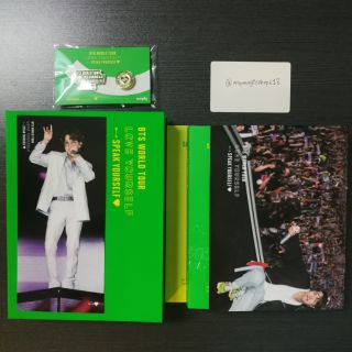 BTS 'LOVE YOURSELF: SPEAK YOURSELF' SAO PAULO DVD WITH JHOPE PHOTO BOOKMARK