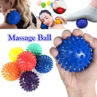 PVC Spiky Massage Ball Trigger Point Hand Foot Pain Relief Muscle Relax Ball