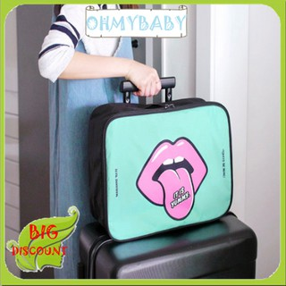 👉OMB👈 Cartoon Lovely Outdoor Travel Clothes Storage Bag Airplanes Boarding Bag