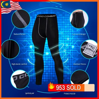 legging jogger pants Men's Sports Tight Pants Men's Fitness Pants Fast-drying Running High-elasticity Training Pants