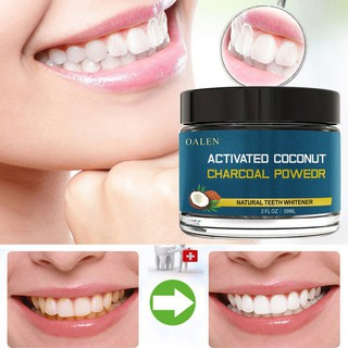 Activated Carbon Teeth Whitening Organic Natural Bamboo Charcoal Toothpaste Powder