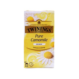 Twinings Pure Camomile Tea (25 Bags) - Delicate & Calming