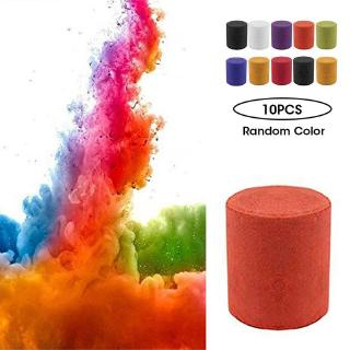 10pcs/set Smoke Cake Colorful Smoke Effect Show Round Bomb Stage Photography Aid