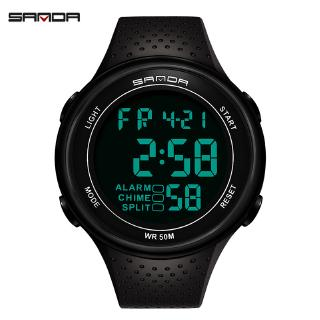 Popular men's watch fashion waterproof night light outdoor sports electronic watch personality watch