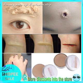 Fancy Dress Fake Scar Wound Skin Wax For Body Face Painting Make Up