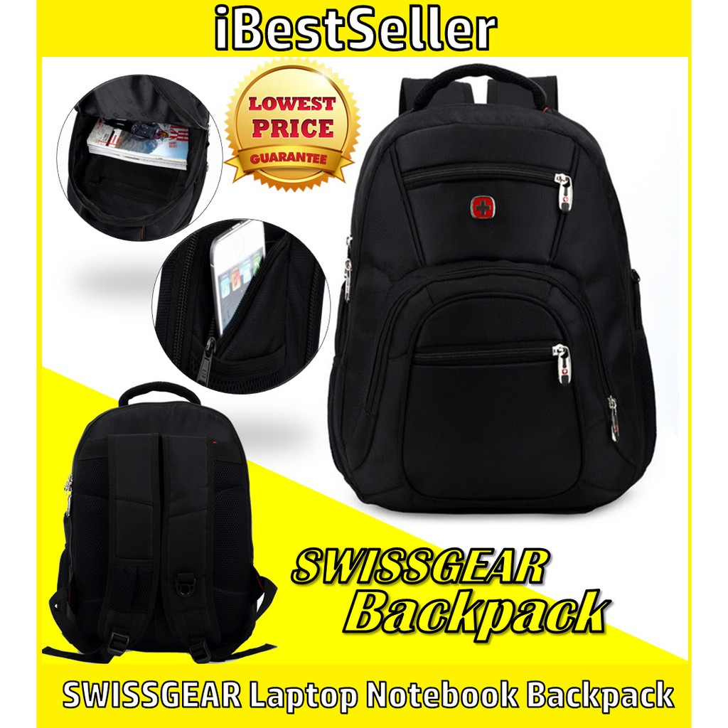 SWISSGEAR Laptop Notebook Backpack Travel Bag iPad Backpack Tablets Bag School Backpack Swiss Gear