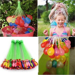 111 Pcs Summer Outdoor Party Prank Water Balloon Bombs Playing in the Water Toys