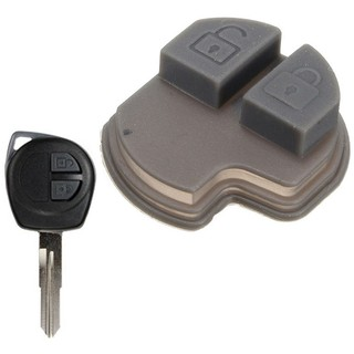 2 Buttons Remote Key Rubber Pad For Suzuki GRAND VITARA SWIFT IGNIS ALTO SX4 spdivine