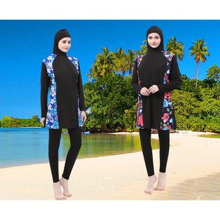 🔥Muslimah 🔥swimwear Muslim swimset women swimsuit
