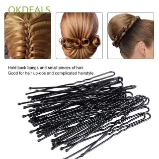OKDEALS 20Pcs Gold Trinket Gifts Headwear Alloy Waved Hair Pins